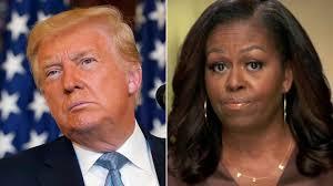 DONALD TRUMP: Slams Michelle Obama
