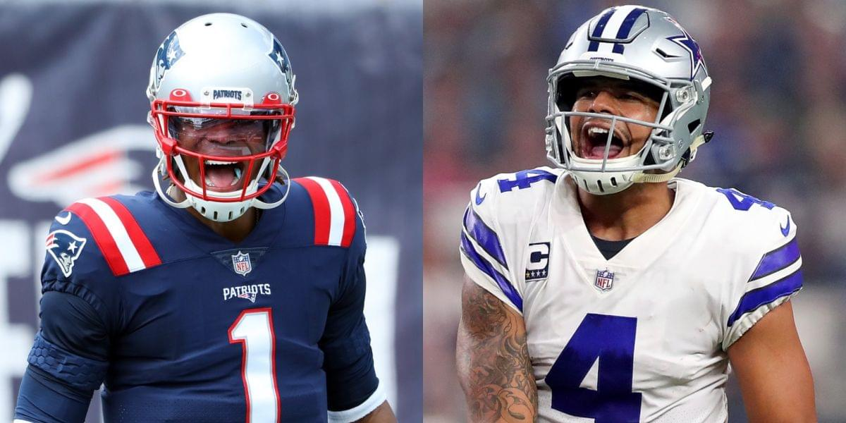 Patriots' Cam Newton And Cowboys' Dak Prescott Sign New NFL Contracts This Week And Expectations Are High Cam is staying with the Pats for another year and $14M, while Dak won big in his years-long negotiations with Dallas.
