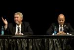 Mayor candidates tackle neighborhood improvements, local gas tax, during Thursday debate