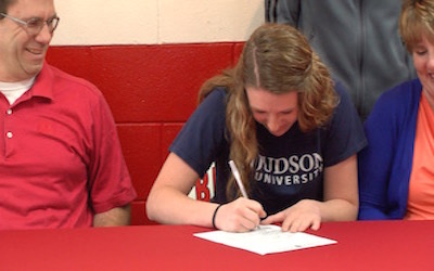 Mt. Zion's Tori Johnson Signs With Judson University