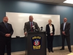 Decatur Police give update, announce arrests, during homicide press conference