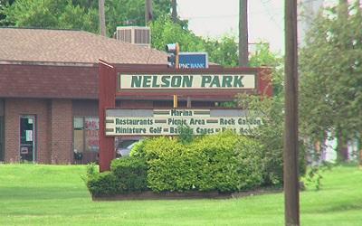 Nelson Park Sign