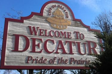 Decatur Welcome Sign