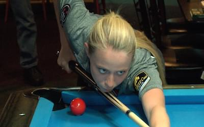 Serena Black working to change the face of pool
