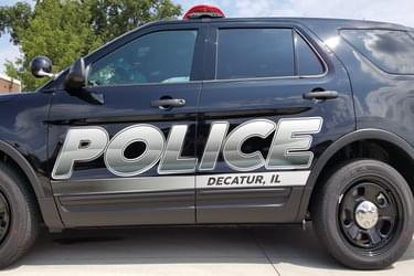 Decatur Police SUV