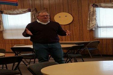 Bill Mitchell @ Senior Center