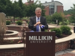 Millikin unveils new welcome court