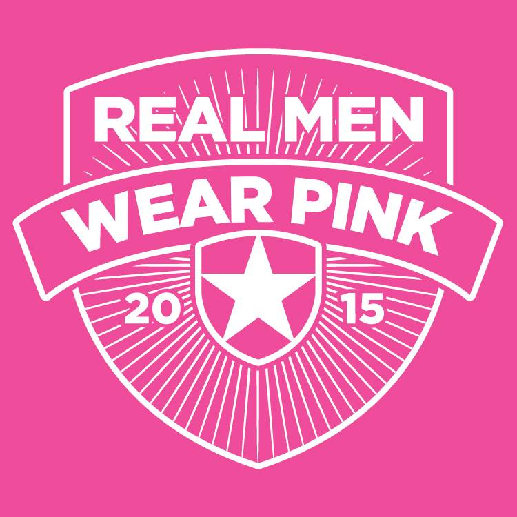 Real Men Wear Pink logo 2015