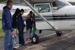 Young Eagle flights at the Decatur Airport