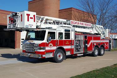 Decatur Fire Truck