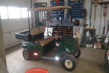 Park district stolen golf cart