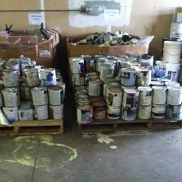 Macon County Environmental Management Hold Paint Disposal Event