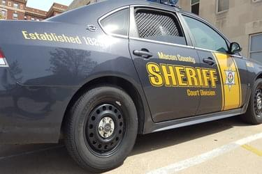Macon County Sheriff car