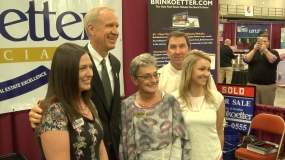 Governor Rauner Visits Expo to Honor Small Business (Video)