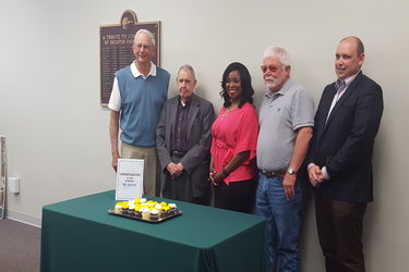 Park Board elect officers