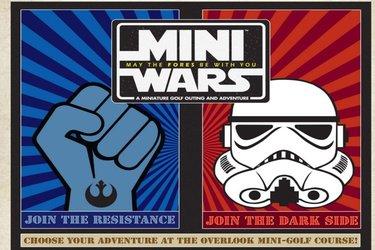 Mini Wars overlook adventures