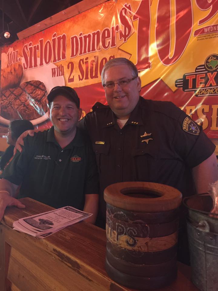 Special Olympics Fundraiser Lunch at Texas Roadhouse – July 28, 2016