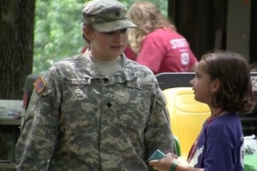 Hero Day at Camp Corral (Video)