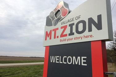 Mt. Zion sign