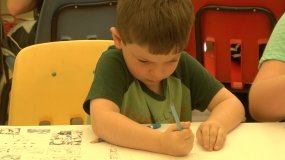 Kids Learn the Art of Comic Book and Manga Drawing (Video)