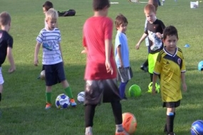 """Midstate soccer educating youngsters in the """"Little Kritter"""" program (Video)"""