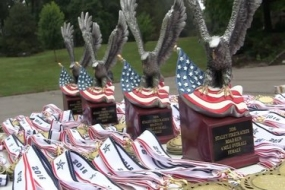 Nelson Park holds the 2016 Staley Firecracker Road Run/Walk (Video)
