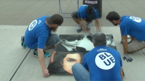 Laying Down the Artwork (Video)
