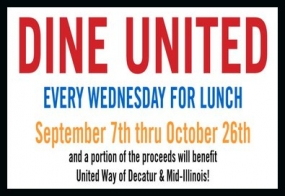 "Last day to ""Dine United"""