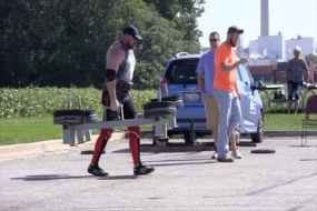 Decatur's Strongman Competition (Video)