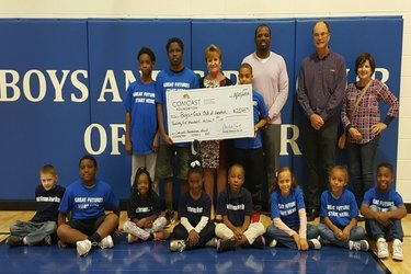 Comcast donates to Boys & Girls Club