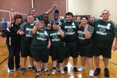Decatur Tigers volleyball team
