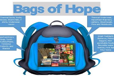 Black Chamber Bags of Hope