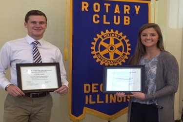 October Rotary Scholar Athletes