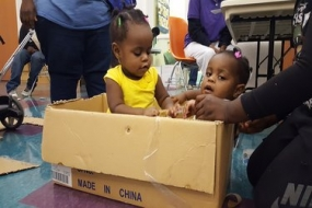 Kids imaginations run crazy at the Cardboard Challenge (photos included)