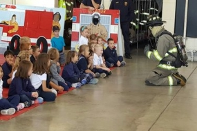 Decatur students learning safety with fun visit to fire station (photos included)
