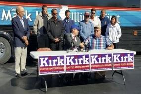 "Senator Kirk calls for repeal of ""death tax"""