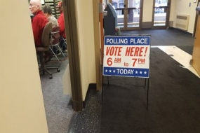 Macon County sees good voter turnout, experiences small amount of delays