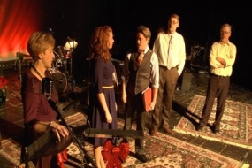 """Sneak peek of """"A Merry Ol' Radio Holiday Show"""" at LST (Video)"""