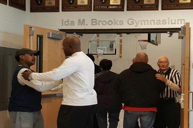 Ida Brooks gym dedication