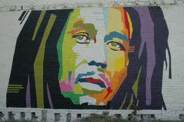 One Love mural