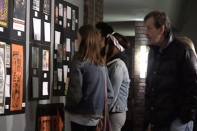 Peace, Love & Posters gallery opening (Video)