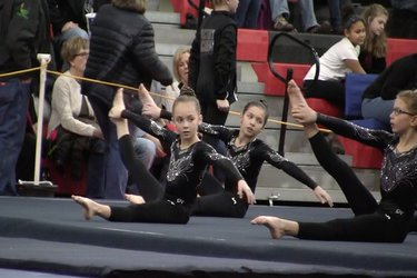 Heart of Illinois Gymnastics meet