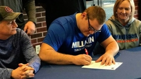 St. T's Moore Chooses Millikin for Football and Track