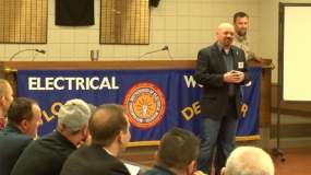 Local Community Members Learn about Trades Unions (Video)