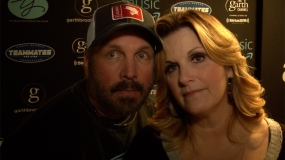 Hear from Garth Brooks and Trisha Yearwood Before the Big Weekend (Video)