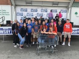 Local Schools Preparing for WSOY Community Food Drive
