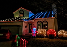 Contest Showcases Holiday Lights and Decorations