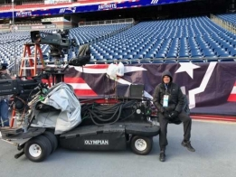 From the sidelines of the AFC Championship game (podcast)