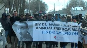 MLK Jr. Annual Freedom March (Video)