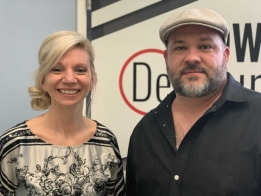 LISTEN: Amanda Pharis and Jeff Quick of Blue Rock Records